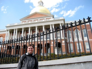 Me at the State House